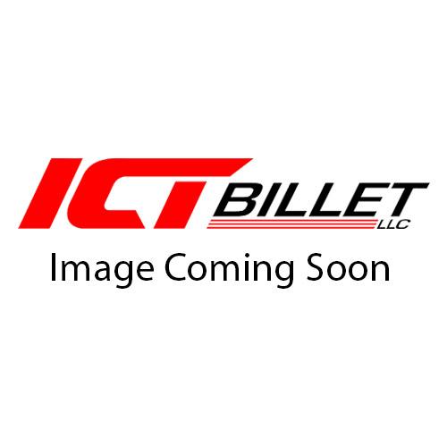 551621 ICT Billet LS Oil Cooler Delete Plate LS LS1 LSX LS3 LQ4 LQ9 LR4 LS6 Port Line