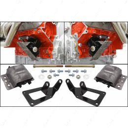 5510-KIT003EM 1973-1987 Chevy Square Body Truck - LS Swap Engine Mount Kit for 2WD 4WD LS1 LS3