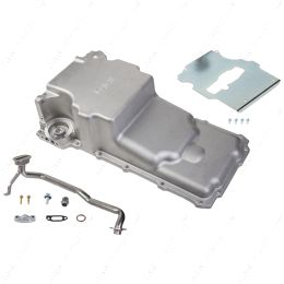 HLY-302-2 Holley 302-2 GM LS Retro-fit Oil Pan - 1955-87 GM/Muscle Car/Classic Car/Trucks additional front clearance