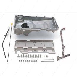 551107 LS Swap Muscle Car Oil Pan LS1 LS2 LS3 LS6 LH6 LR4 LQ4 LQ9 LSX ICT Billet