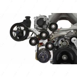 551118-7176-3 LT Gen V OBS Truck Swap Saginaw Power Steering & 7176 A/C Compressor Bracket