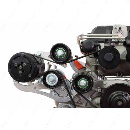 551135-3-7176 LSA Supercharger High Mount A/C Sanden 7176 Compressor Bracket Kit CTS-V ZL1 SD7
