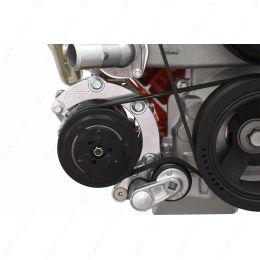 551137-LS74-2 LS Low Mount A/C Air Conditioner Compressor Bracket for Sanden 7176 LS1 Camaro