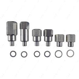 551156 LS Master Adapter Set Engine Oil & Coolant Sensor Gauge 1/8 3/8 1/2 NPT LS1 LS3