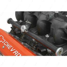 551285-125NP Fuel Pressure External Regulator Plug w/ Gauge for LS Truck Intake Manifold Rail
