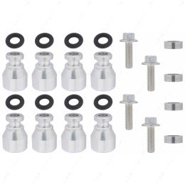 551287-LS-036 Fuel Injector Spacer Set of 8 Truck Intake Manifold to LS3 Injector Adapter