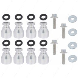 551287-LS-047 Fuel Injector Spacer Set of 8 LS1 Intake to LS2 or Flex Fuel Injector Adapter