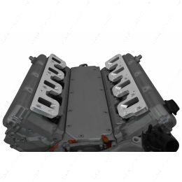 551347-LT-LS3 Gen V LT Cylinder Head to LS Gen IV Car / Truck Rectangle Port Intake Adapter