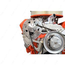 551411 SBC Billet Alternator Bracket for Long Water Pump