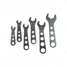 551465 Billet Aluminum 6pc Wrench Set 3 4 6 8 10 12 AN