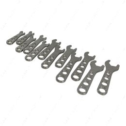 551471 12pc Billet Aluminum AN Fitting Wrench Complete Set 2 - 12AN Wrenches