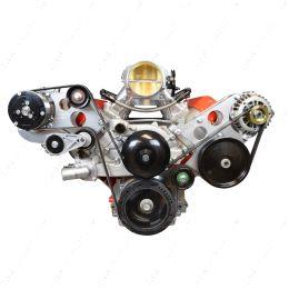 551474-1 LS Corvette - Sanden 508 A/C Air Conditioner Compressor Bracket Kit LS AC GTO