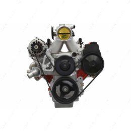 551498LS0-3 LS Truck - Alternator and LS1 Camaro Power Steering Pump Bracket Kit Turnbuckle