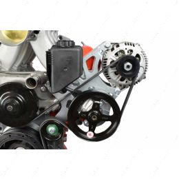 551521X-1 LS Corvette - Alternator / Power Steering Pump Bracket Kit
