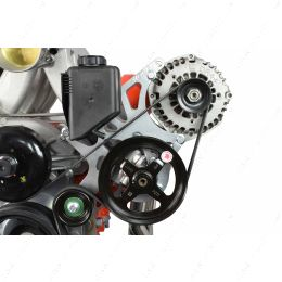 551521X-2 LS1 Camaro LS Alternator & Power Steering Pump Accessory Bracket Kit 98-2002 GTO