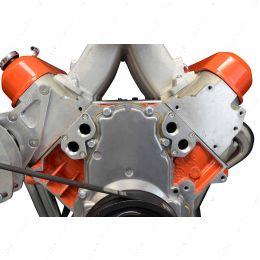 551536 LS Remote Mount Water Pump Adapter Plate -12AN ORB LS1 LSX Camaro