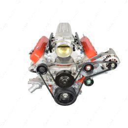 551566-1 LS Corvette Heavy Duty Billet Alternator Bracket Kit LSX LS1 5.7L Top Driver Head Mount