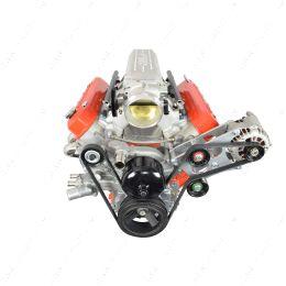 551566-2 LS Camaro Heavy Duty Billet Alternator Bracket Kit LSX LS1 5.7L Top Driver Head Mount