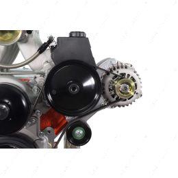 551577-3 LS Truck High Mount w/ Type 2 Power Steering Pump & Alternator Bracket Kit