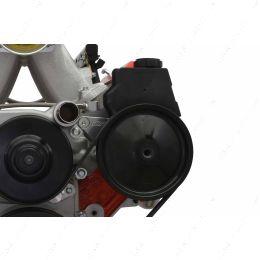 551581-3 LS Truck Power Steering Pump Bracket Kit For LS1 Pump w/ Turbo Headers