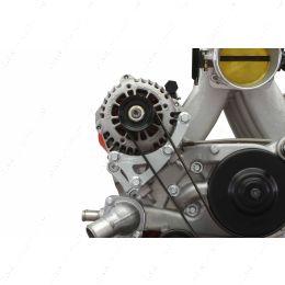 551587-LS01-3 LS Truck Turbo Alternator Relocation Bracket for LS3 LS1 Water Pump