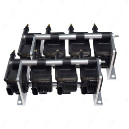 551588 LS Remote Mount Holley Smart AMP EFI Coil Relocation Brackets 556-112 IGN-1A LSX LS1 LS3