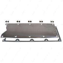 551629G LS Gen 3 VALLEY PAN Cover with GASKET Plate Billet Knock Sensor Delete LSX LS1