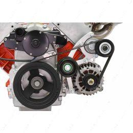 551667EWP-2 LS Low Mount Alternator Bracket for Electric Water Pump w/ Tensioner Camaro LS1