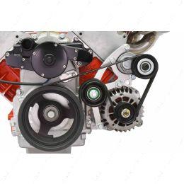 551667EWP-3 LS Low Mount Alternator Bracket for Electric Water Pump w/ Tensioner - Truck
