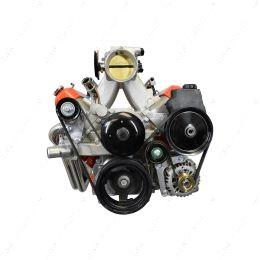 551669-3 LS Truck Low Mount Alternator Power Steering Pump Bracket LSX LS3 LQ4 LQ9 Billet