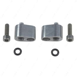 """551679 LS 1/8"""" Coolant / Steam Port - Top Exit Cylinder Head Crossover Tube Adapters LS1"""