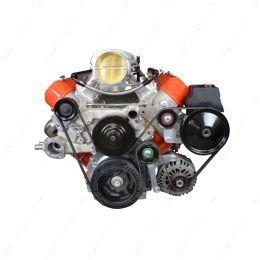551769-1 LS Corvette Low Mount Alternator, Power Steering Pump Brackets LSX LS1 LS3 LS2