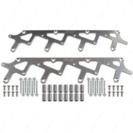 551773 LS Billet Coil Brackets Holley AMP EFI Smart Coil Pack for Holley Valve Covers