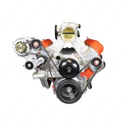 551776-2 LS Idler Pulley Bracket - Power Steering Delete LSX Camaro 1999 2002 LS1 GTO ICT