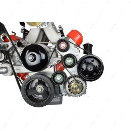 551791-2 LS1 Camaro OEM Fox Body Power Steering Alternator Bracket Kit Mustang LS Swap