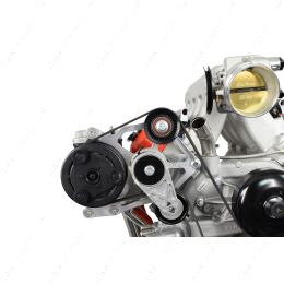 551792-3 LS Truck OEM Fox Body A/C Compressor Bracket Kit LS Swap Mustang