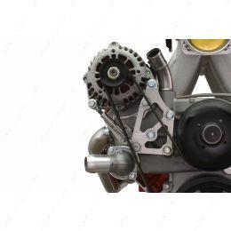 551799-3 LS Truck Passenger Alternator Relocation Bracket w/ Turnbuckle Tensioner