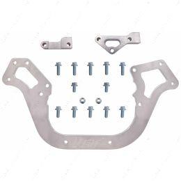 "551825-LS01 LS Sprint Car Front Engine Plate 1pc Aluminum Chevy Motor Mount 19.5"" Wide LS1"
