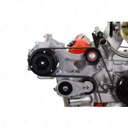 551940-3 LS Truck A/C Compressor Relocation Bracket Kit LM7 L92 L96 LSX 4.8L 5.3L 6.0L