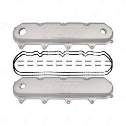551953 LT Billet Aluminum Valve Cover Set -12orb LT1 LT4 L83 L86 L87 ICT Billet
