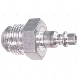 """551956-10AN 10AN Hose Testing Tool Flare to 1/4"""" Air Compressor Hose Quick Test Fitting"""