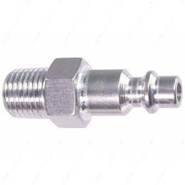 """551956-250NP 1/4"""" NPT Pipe Male Hose Testing Tool to 1/4"""" Air Compressor Hose Test Fitting"""