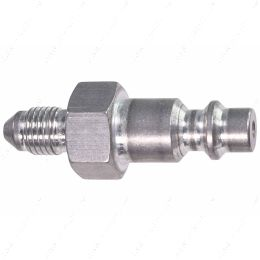 """551956-4AN 4AN Hose Testing Tool Flare to 1/4"""" Air Compressor Hose Quick Test Fitting"""