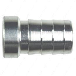 "AN617-08 1/2"" Aluminum Weld Barb - Weldable Fitting Nipple .5"" Hose"