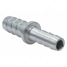 """AN627-05-04A 5/16"""" to 1/4"""" Inch Hose Barb Splice Coupler Repair Connector Fitting Adapter"""