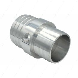 """AN627-21X125 1-1/4"""" to 1-1/2"""" Hose w/ 1/8""""NPT Steam Port Adapter Top Radiator LS Swap Coolant"""