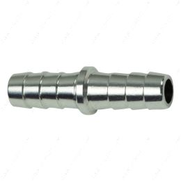 """AN627-05A 5/16"""" Hose Barb .3125 Inch Splice Coupler Mend Repair Connector Fitting Adapter"""