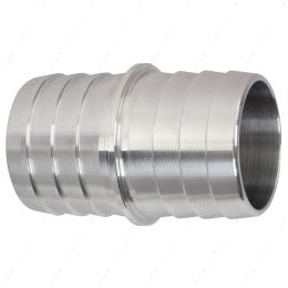 """AN627-20A 1-1/4"""" Inch Hose Barb Splice Coupler Mend Repair Connector Fitting Adapter 1.25"""""""
