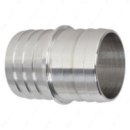 """AN627-24A 1-1/2"""" Inch Hose Barb Splice Coupler Mend Repair Connector Fitting Adapter"""