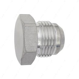 AN806-12A -12AN Flare Plug Male Nut 12 AN Block Off Cap Fitting Bare